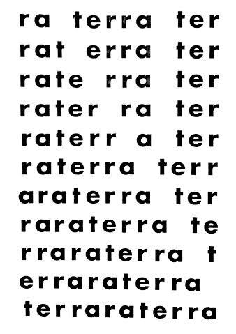 Figura 4: terra.(PIGNATARI, 2004a, p. 126).